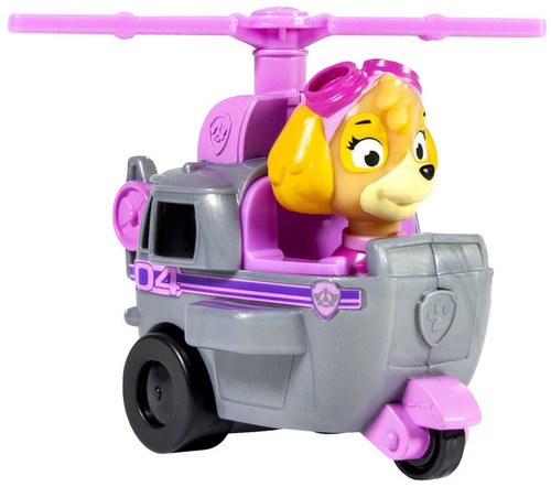 Paw Patrol Rescue Racer Skye in Jet Pack Figure [Figure Does Not Come Out!]