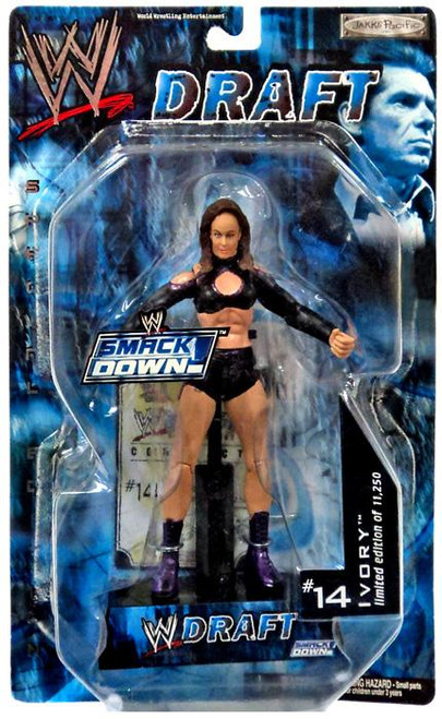 WWE Wrestling Smackdown Draft Ivory Action Figure #14