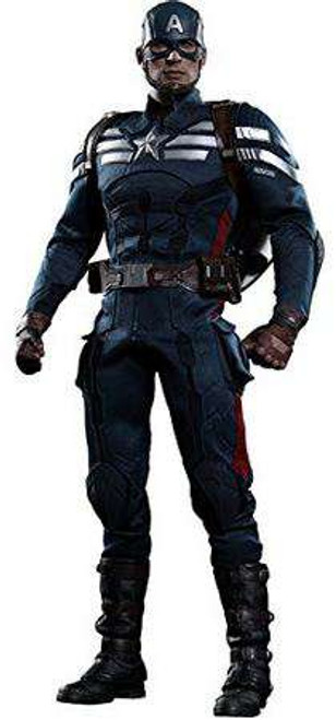 The Winter Soldier Movie Masterpiece Captain America Collectible Figure [Stealth S.T.R.I.K.E. Suit]