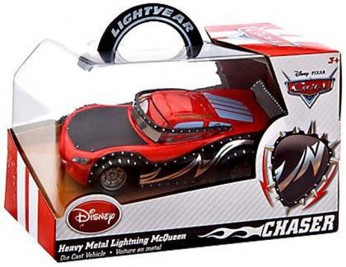 Disney / Pixar Cars Heavy Metal Lightning McQueen Exclusive Diecast Car [Chase Edition]