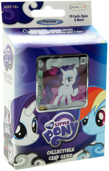 My Little Pony Collectible Card Game Premiere Rarity Theme Deck