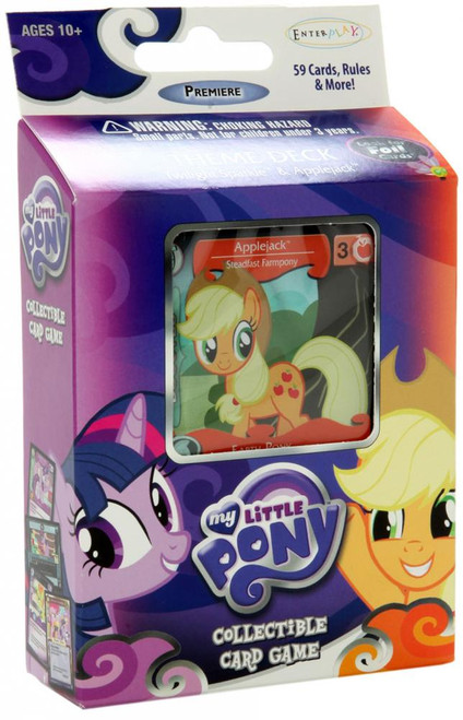 My Little Pony Friendship is Magic Premiere Edition Applejack Theme Deck