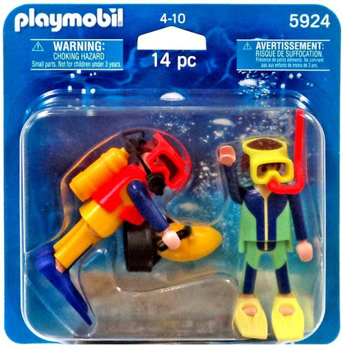 Playmobil Figures Divers Set #5924