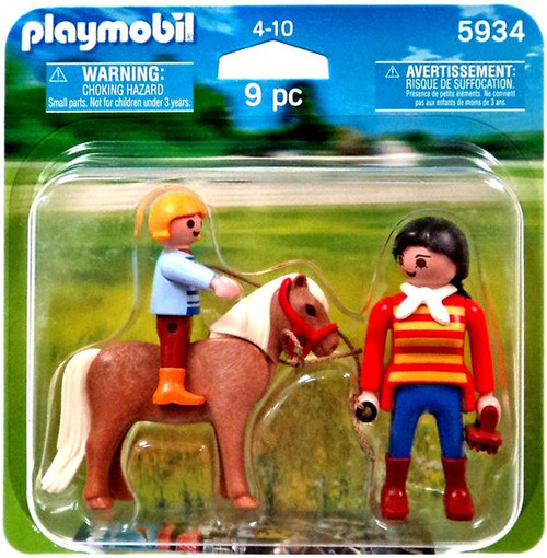 Playmobil Figures Pony Ride Set #5934