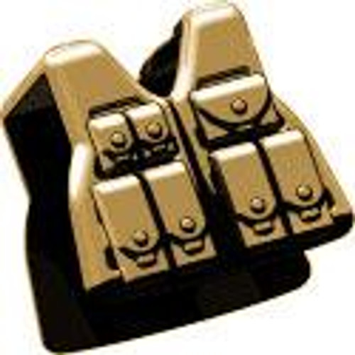 BrickArms Combat Vest LCV Rifleman 2.5-Inch [Tan]