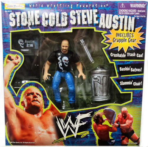 ECW Wrestling Champion Clashers Stone Cold Steve Austin Action Figure [Grapple Gear]
