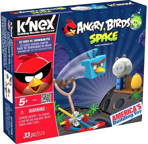 K'NEX Angry Birds Ice Bird vs. Snowman Pig Set #72003