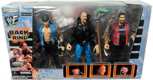 WWE Wrestling WWF Back in the Ring Action Figure 3-Pack