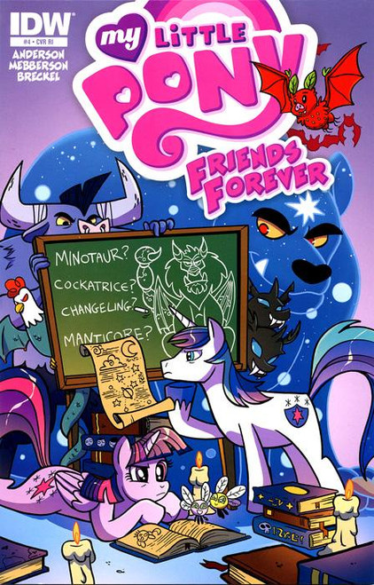 My Little Pony #4 Comic Book [Retailer Incentive]