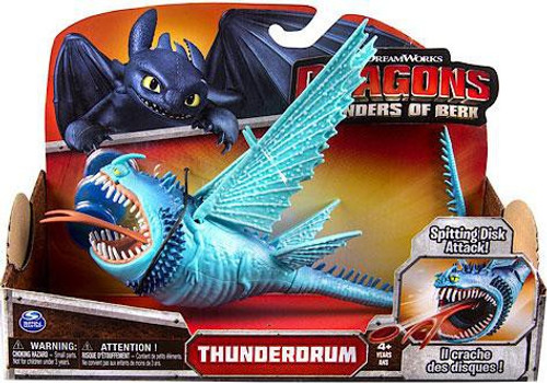 How to Train Your Dragon Defenders of Berk Thunderdrum Action Figure [Blue]