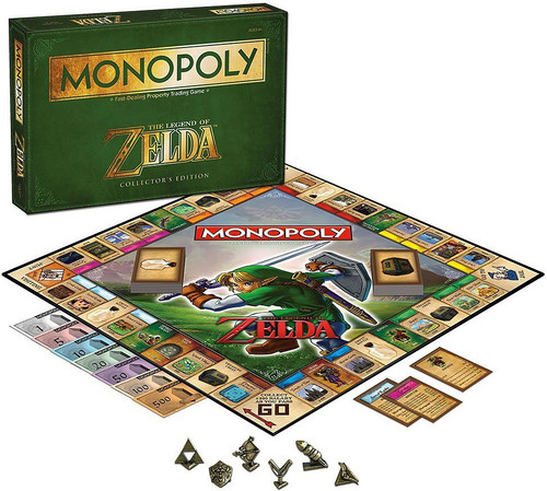 The Legend of Zelda Monopoly Board Game