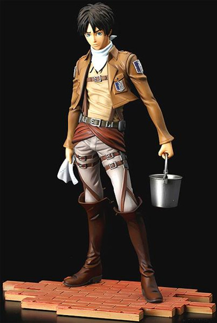 Attack on Titan Brave-Act Eren Yeager Statue [Cleaning Version]