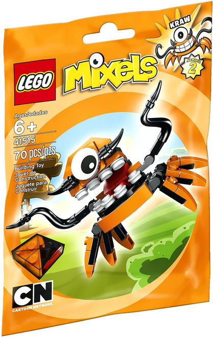 LEGO Mixels Series 2 Kraw Set #41515