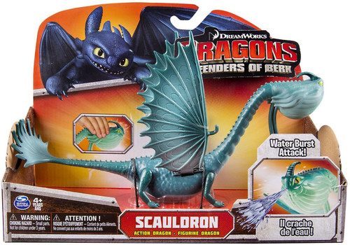 How to Train Your Dragon Defenders of Berk Scauldron Action Figure