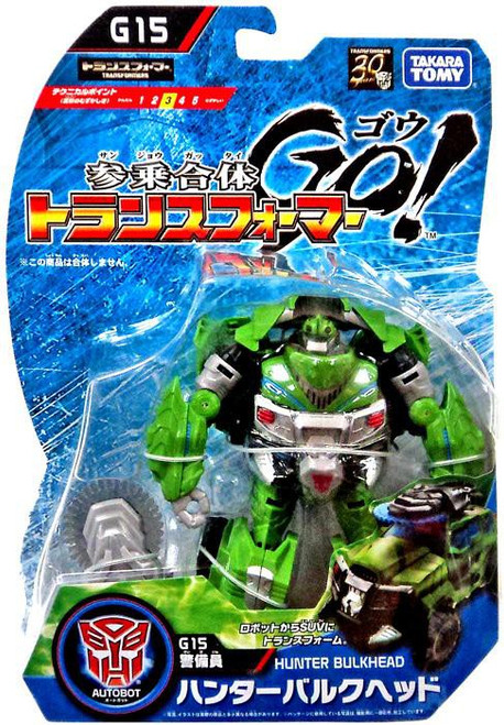 Transformers Japanese GO! Hunter Bulkhead Action Figure G15