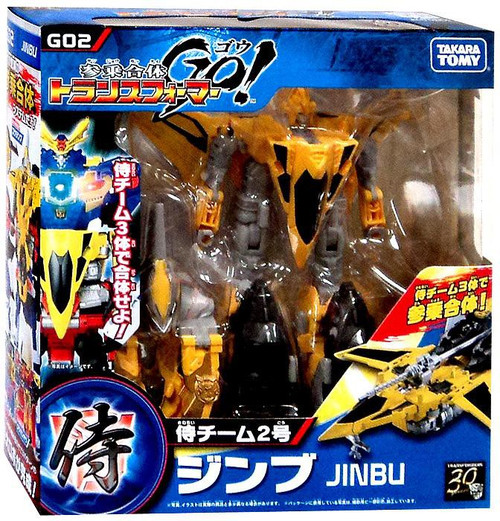 Transformers Japanese GO! Jinbu Action Figure G02