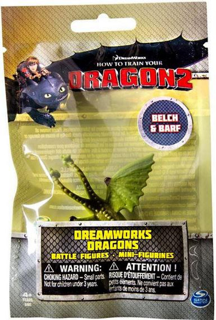 How to Train Your Dragon 2 Dreamworks Dragons Battle Figures Belch & Barf Minifigures