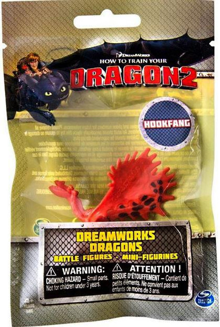 How to Train Your Dragon 2 Dreamworks Dragons Battle Figures Hookfang Minifigure