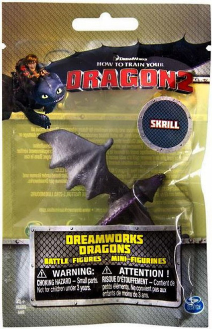 How to Train Your Dragon 2 Dreamworks Dragons Battle Figures Skrill Minifigure