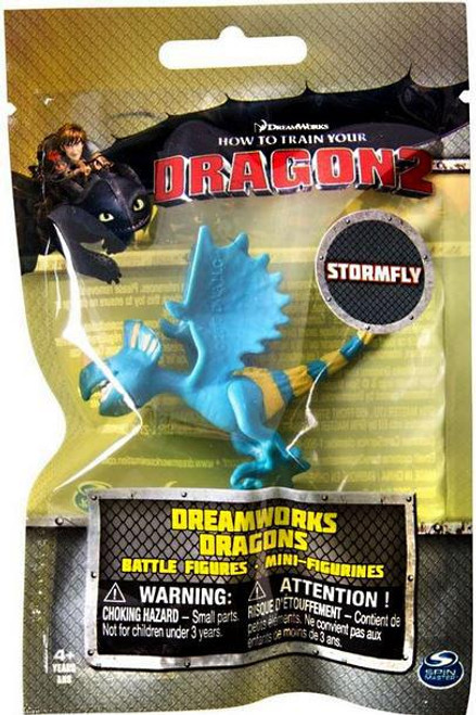 How to Train Your Dragon 2 Dreamworks Dragons Battle Figures Stormfly Minifigure