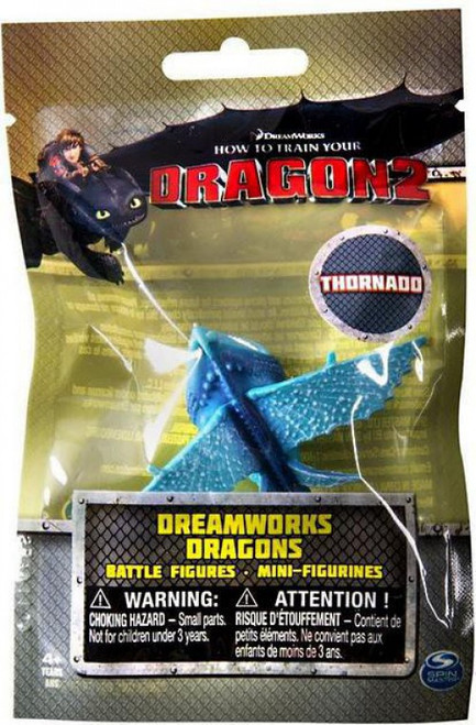 How to Train Your Dragon 2 Dreamworks Dragons Battle Figures Thornado Minifigure