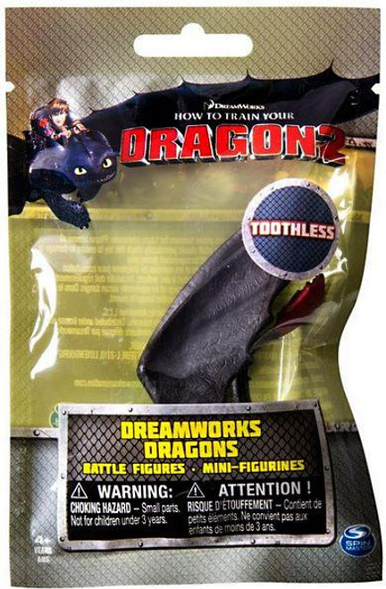 How to Train Your Dragon 2 Dreamworks Dragons Battle Figures Toothless Minifigure