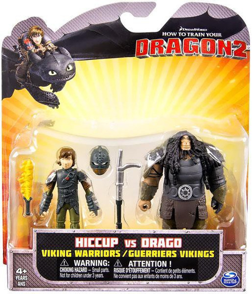 How to Train Your Dragon 2 Hiccup vs. Drago Action Figure 2-Pack