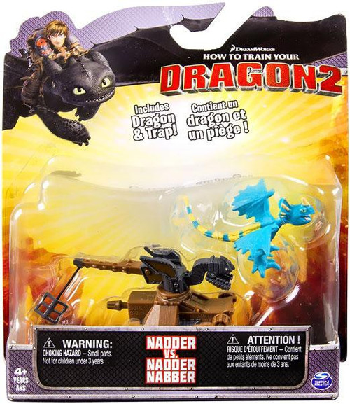 How to Train Your Dragon 2 Nadder vs. Nadder Nabber Action Figure 2-Pack