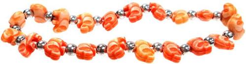 Elephantz Orange Elephants Bracelet