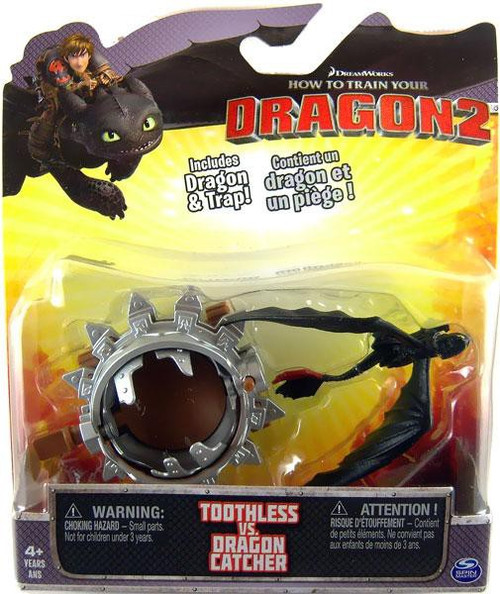 How to Train Your Dragon 2 Toothless vs. Dragon Catcher Action Figure 2-Pack