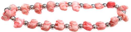 Elephantz Pink Elephants Bracelet