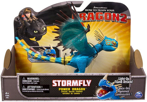 How to Train Your Dragon 2 Power Dragons Stormfly Action Figure [Racing Stripes]