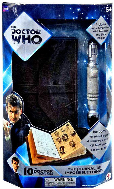 Doctor Who 10th Doctor The Journal of Impossible Things Roleplay Toy