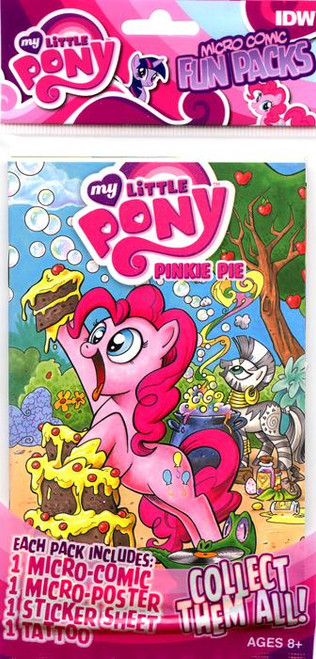 My Little Pony Fun Packs Pinkie Pie Micro Comic Book Fun Pack
