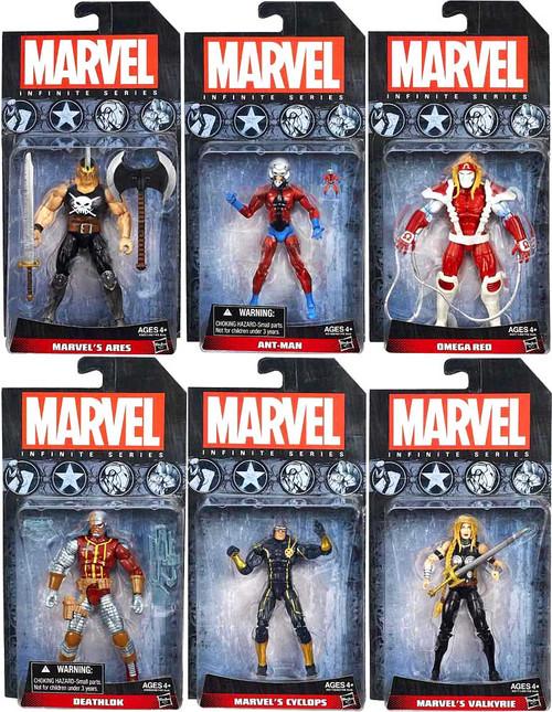 Marvel Avengers Infinite Series 3 Set of 6 Action Figures