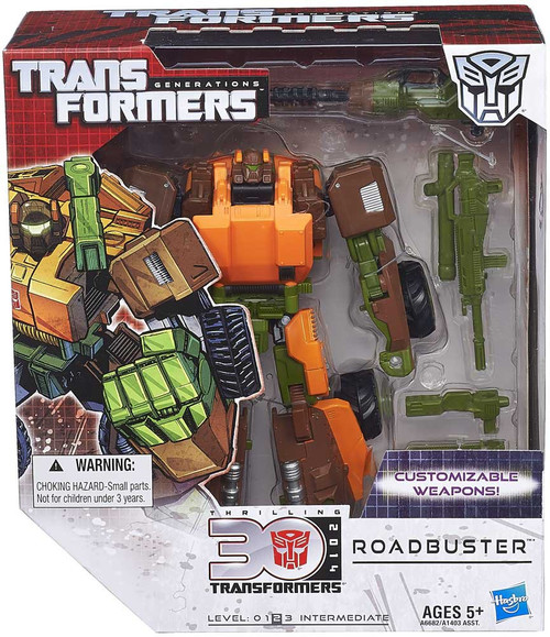 Transformers Generations 30th Anniversary Roadbuster Voyager Action Figure