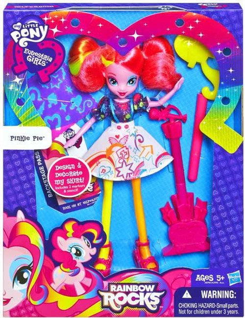 My Little Pony Equestria Girls Rainbow Rocks Deluxe Pinkie Pie 9-Inch Doll