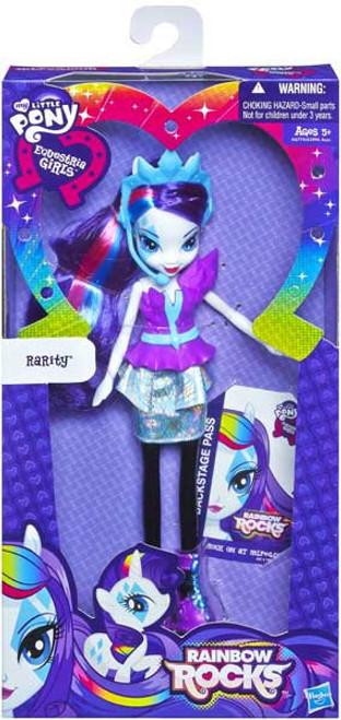 My Little Pony Equestria Girls Rainbow Rocks Basic Rarity 9-Inch Doll