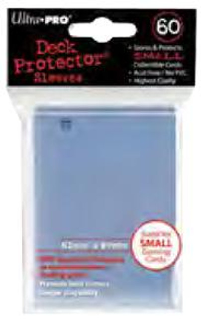 Ultra Pro Card Supplies Deck Protector Clear Small Card Sleeves [60 Count]