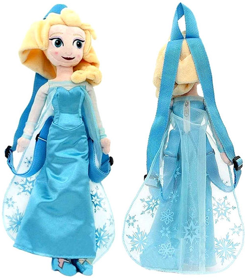 Disney Frozen Elsa 14-Inch Plush Backpack
