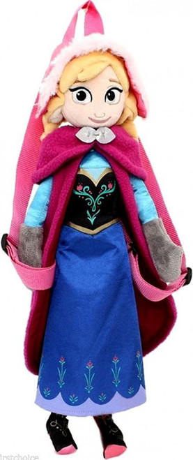 Disney Frozen Anna 14-Inch Plush Backpack