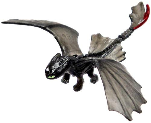 How to Train Your Dragon 2 Toothless 2-Inch PVC Figure [Translucent]