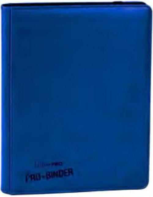 Ultra Pro Card Supplies Premium Pro-Binder Blue 9-Pocket Binder