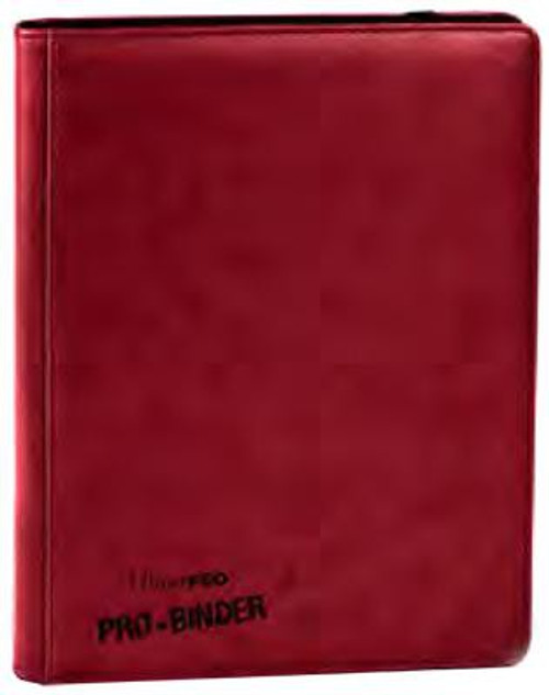 Ultra Pro Card Supplies Premium Pro-Binder Red 9-Pocket Binder