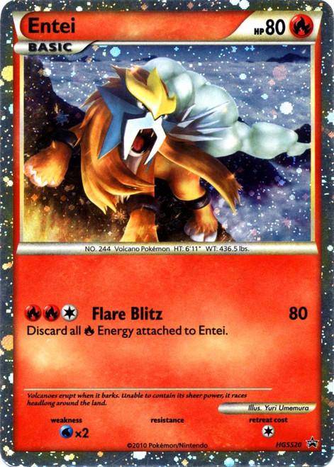 Pokemon HeartGold & Soulsilver Promo Cards Rare Holo Entei HGSS20