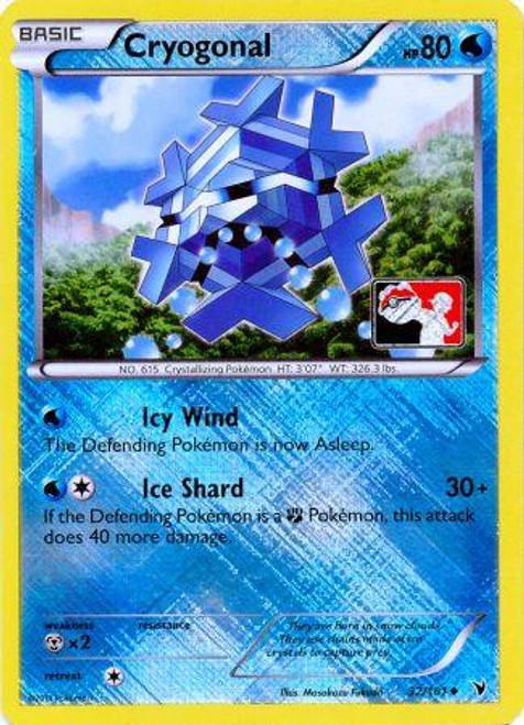 Trading Card Game Pokemon League Promo Rare Holo Cryogonal #32
