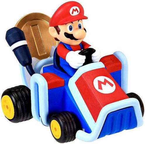 Super Mario Mario Kart 7 Coin Racers Series 1 Mario Figure