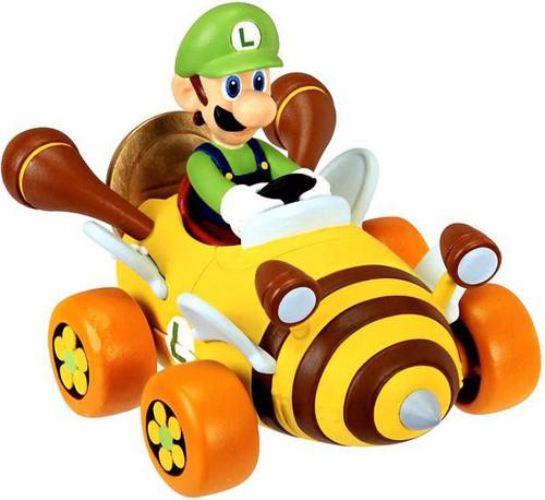 Super Mario Mario Kart 7 Coin Racers Series 1 Luigi Figure