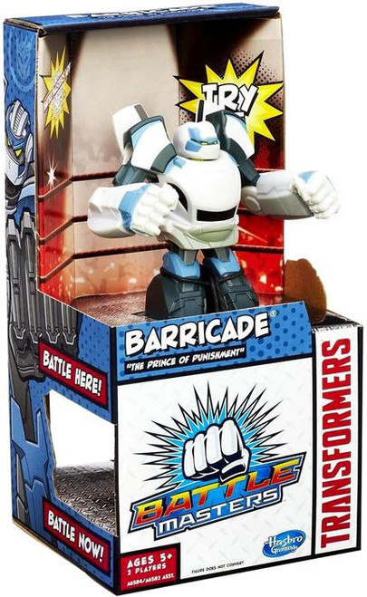 Transformers Battle Masters Barricade Action Figure [The Prince of Punishment]