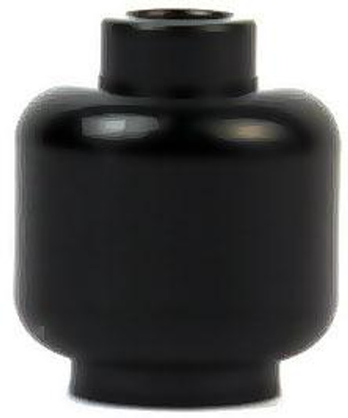 Black Minifigure Head [Loose]